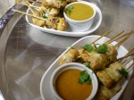 RED AND YELLOW CURRY CHICKEN SKEWERS